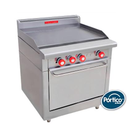 Planchas y parrillas grill marca coriat para cocinas for Costo cocina industrial